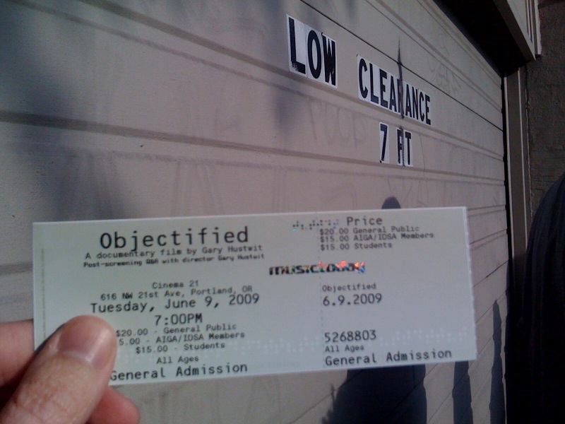 Ticket Object