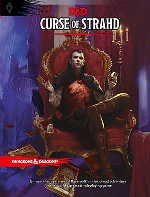 Curse of Strahd cover